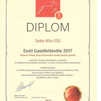 Eesti Gasellettevõte 2017
